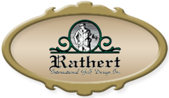 Rathert International Golf Design logo